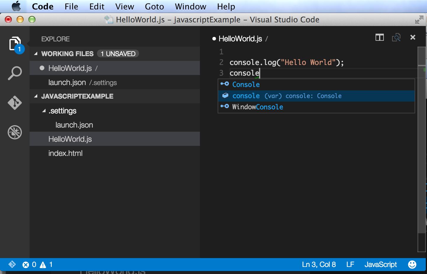 JavaScript Editors for Beginners