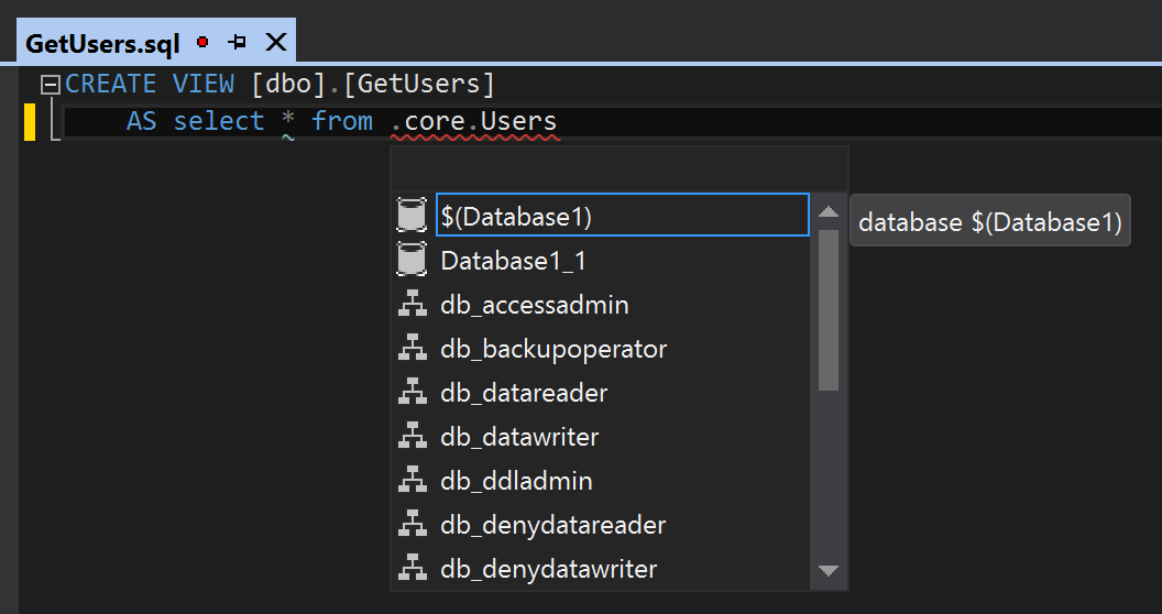 Referencing db with variable
